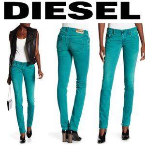 Diesel Grupee Skinny Jeans Teal sz 30